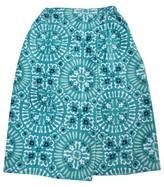 Threshold Medallion Bath Wrap Turquoise