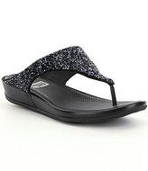 FitFlop Banda Roxy Embellished Slip-On Sandals