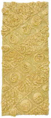 "Home Weavers Inc. Modesto Bath Rug, 21""x54"", Yellow"