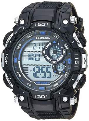 Armitron Sport Men's 40/8397BBK Digital Chronograph Resin Strap Watch