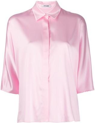Styland Button Collar Shirt