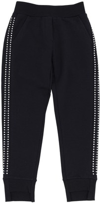 MonnaLisa Embellished Cotton Sweatpants