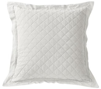 Alcott Hill Leighty Quilted Sham Size: Euro, Color: Brown