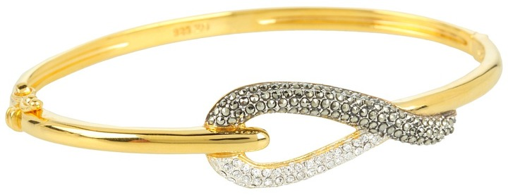 Judith Jack Status Links Bracelet Bangle (Gold) - Jewelry