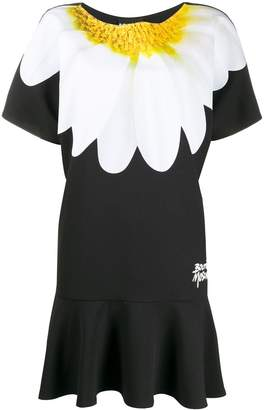 Moschino enlarged daisy print dress