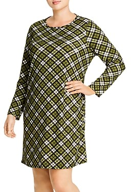 MICHAEL Michael Kors Plaid Shift Dress