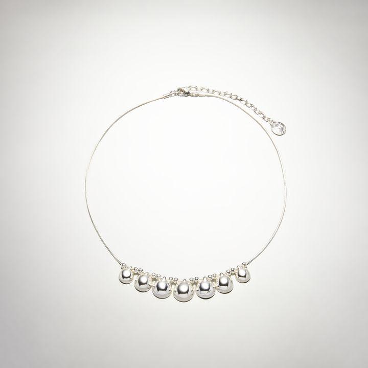 Jones New York Silver-Tone Collar Necklace