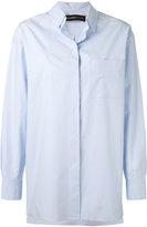 Alexandre Vauthier concealed fastening shirt - women - Cotton - 38