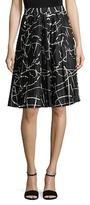 Ava & Aiden Pleated Midi Skirt