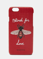 Gucci Women's Blind for Love iPhone 6 Case in Red