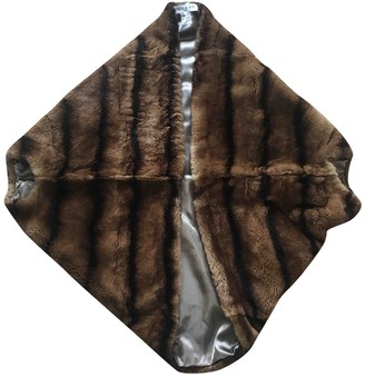 Paul & Joe Brown Mink Coat for Women