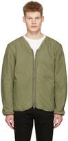Saturdays NYC Green Khari Liner Jacket