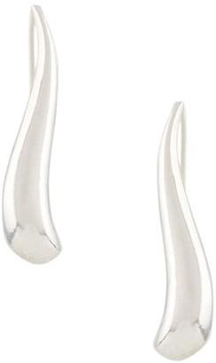 Wouters & Hendrix Stylized shape drop earrings