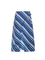 J.W.Anderson Diagonal-striped silk skirt