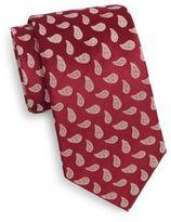 Saks Fifth Avenue Boxed Paisley Silk Tie