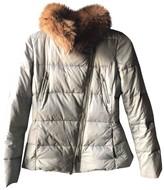 Carolina Herrera Grey Coat for Women