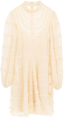 Zimmermann Lace-Detailed Mini Dress