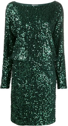 P.A.R.O.S.H. runway sequin dress