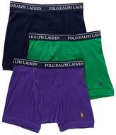 Polo Ralph Lauren Classic Cotton Knit Boxer Brief 3-Pack, S