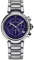 Edox Women's 10220 3M BUIN LaPassion Analog Display Swiss Quartz Silver Watch
