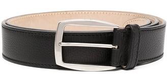 Brioni Logo Stitched Belt