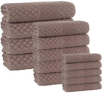 Enchante Home Glossy 16Pc Towel Set