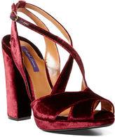 Ralph Lauren Georgeanna Velvet Sandal