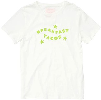ban.do Breakfast Tacos Classic Tee (Ivory) Women's Clothing