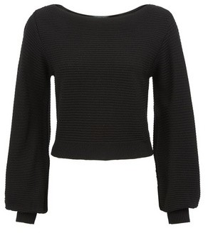 Dorothy Perkins Womens Lola Skye Black Blouson Jumper, Black