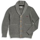 Lucky Brand Boys 8-20 Shawl Collar Knit Cardigan