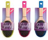 Goody Wood Oval Cushion Hair Brush, 1CT (Colors may vary)