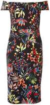 Dorothy Perkins Tropical Print Bardot dress