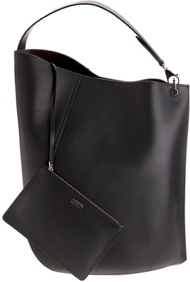 Lanvin Black Taurus Large Tote Bag From