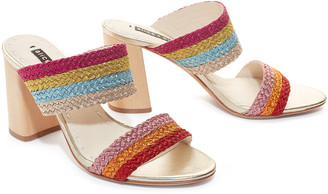 Alice + Olivia Loni Color Block Heel