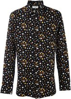 Saint Laurent star print shirt