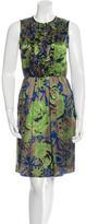 Etro Silk Floral Print Dress