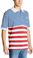 Enyce Men's Leonard Short Sleeve Stripe Polo