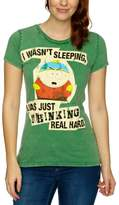 Logoshirt V South Park - Cartman Thinking Logo Women's T-Shirt