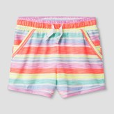 Cat & Jack Toddler Girls' Lounge Shorts Sunrise Coral