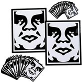 Obey Men's Sticker Pack 2-icon Face