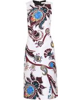 Mary Katrantzou Emma Urdu paisley-print faille dress