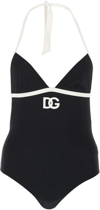Dolce & Gabbana Logo One-Piece Swimsuit