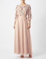Monsoon Aisha Embroidered Maxi Dress