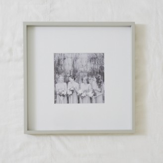 "The White Company Fine Wood Photo Frame 8x8"" , Grey, One Size"