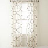 Liz Claiborne Marina Rod-Pocket Sheer Panel