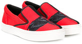 Marcelo Burlon County Of Milan Kids wing print sneakers