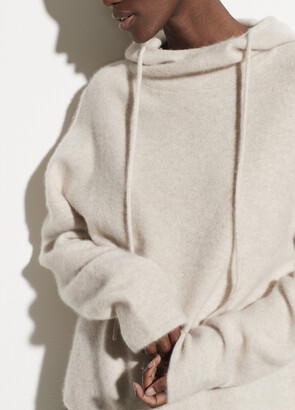 Vince Boiled Cashmere Clean Edge Hoodie