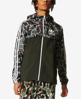 adidas Men's Camo Windbreaker