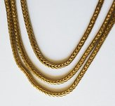 Singer22 Luv Aj Twinkle Wrap Necklace in Gold