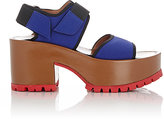 Marni Women's Neoprene Double-Strap Platform Sandals